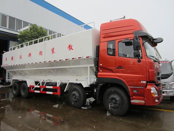 东风天龙前四后八40立方(20吨)饲料车