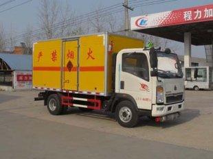 重汽豪沃爆破器材运输车(蓝牌),爆破器材运输车