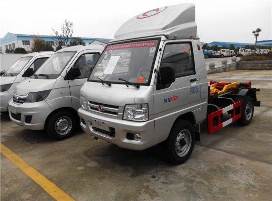 福田驭菱车厢可卸式垃圾车(国五)