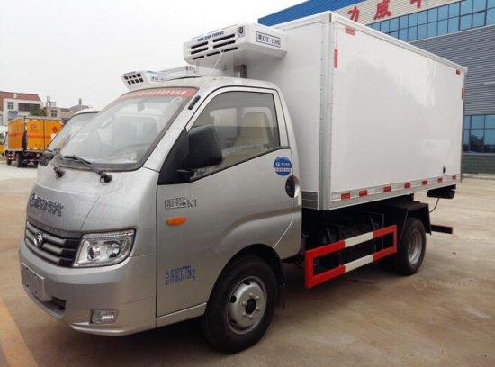 福田康瑞KI双燃料冷藏车(油气二用)