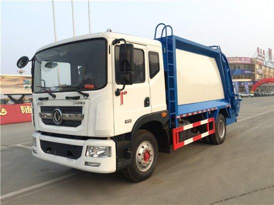 东风多利卡D9压缩式垃圾车(12-14方)