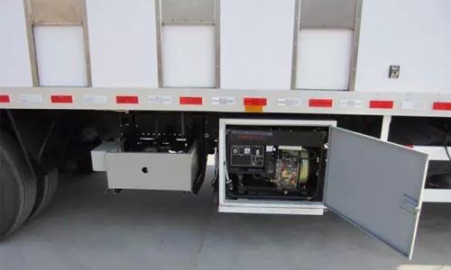 畜禽运输车供电系统