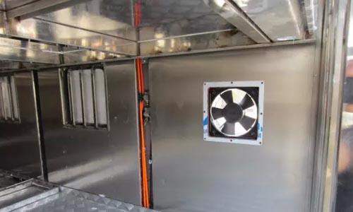 畜禽运输车恒温系统