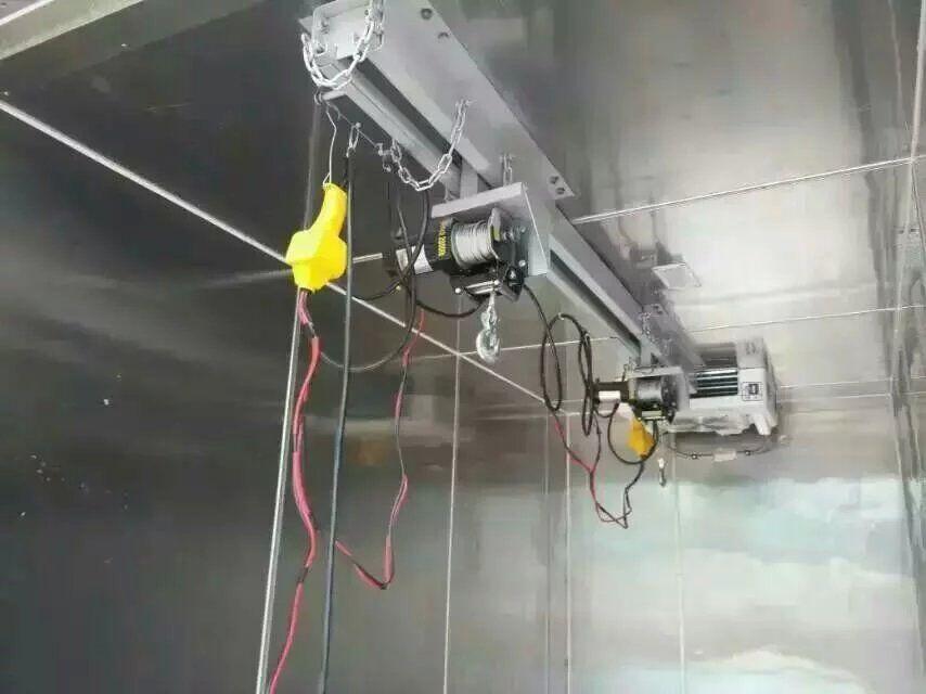 福田康瑞k1废弃物收集专用车内部结构