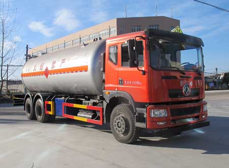 东风后八轮液化气体运输车(25.3立方)