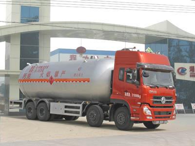 东风天龙前四后八液化气体运输车(35.5立方)