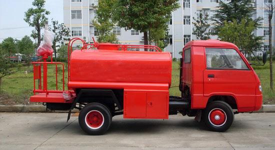 福田2吨小型消防洒水车