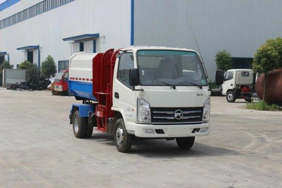凯马挂桶式垃圾车(国五)