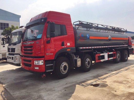 解放前四后八氨水化工液体运输车(18吨 20立方)