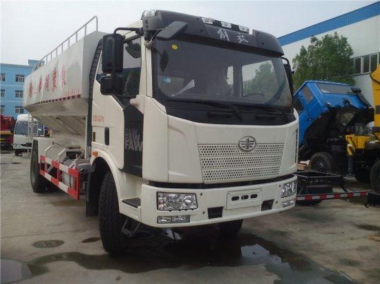 解放J6散装饲料运输车(20方)