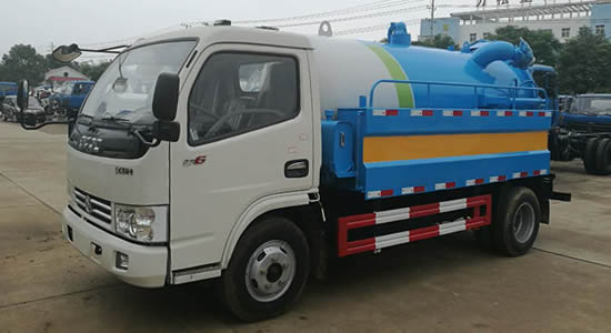 东风凯普特清洗吸污车(国五)