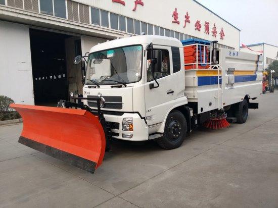 东风锦多功能洗扫车