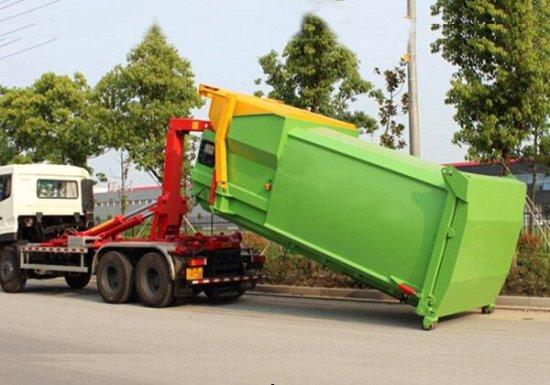 8方移动压缩垃圾箱