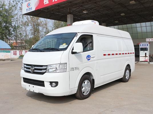 福田G7面包式冷藏车(5.3立方)