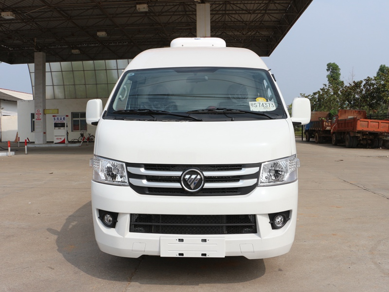 福田G7国五冷藏车(5.3立方)车头