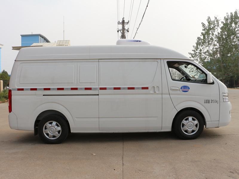 福田G7国五冷藏车(5.3立方)侧面(车头向左)