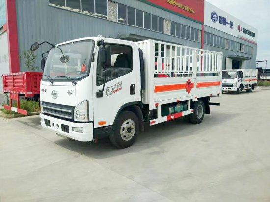 解放虎V仓栏气瓶运输车(4.15米)