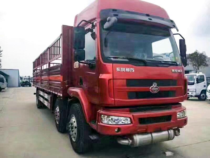 东风柳汽乘龙9.6米气瓶运输车