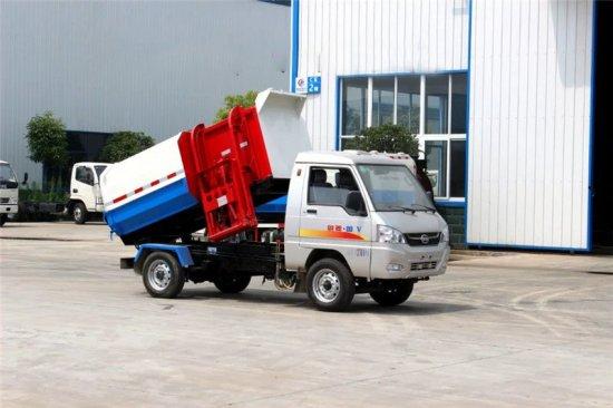 凯马挂桶式垃圾车(3方)(汽油)