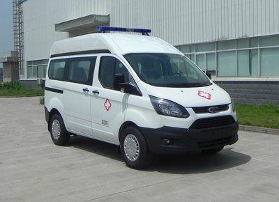 福特新全顺短轴监护型救护车