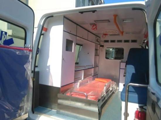 新全顺监护型救护车|福特新全顺救护车|福特新全顺短轴救护车