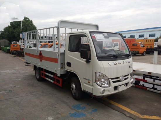 跃进气瓶运输车(柴油)(3.48米)