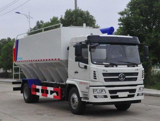陕汽轩德20方(10吨)散装饲料运输车