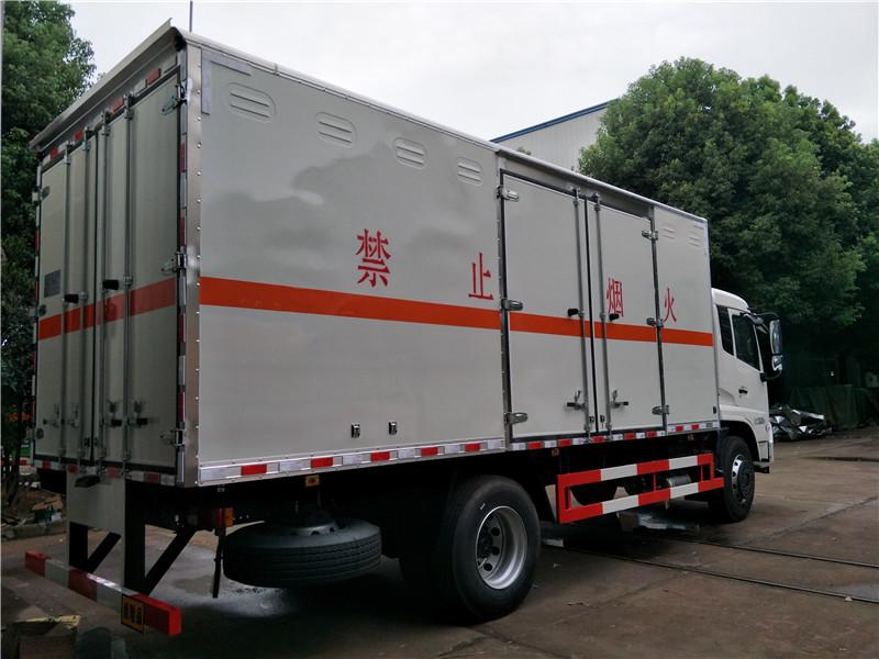 易燃液体厢式厢式运输车图片5