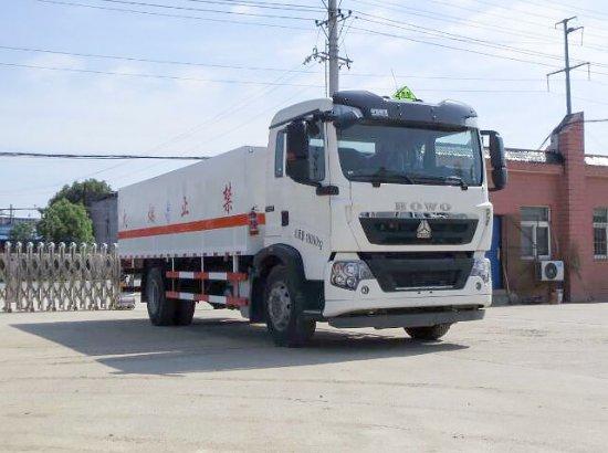 重汽T5G毒性气体厢式运输车(6.7米)