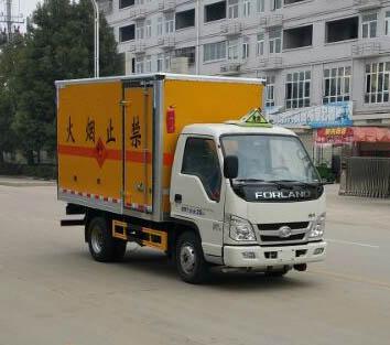 福田小卡之星爆破器材运输车(3.3米)