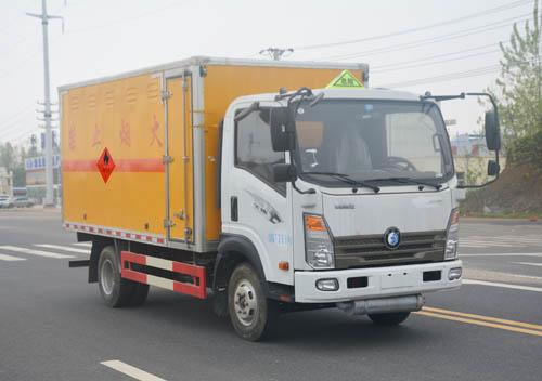 重汽王牌易燃气体厢式运输车(4.15米)