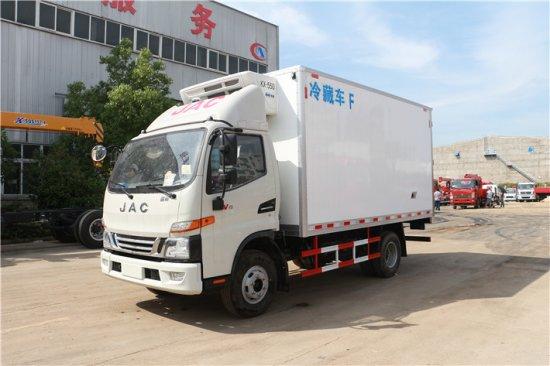 江淮骏铃V6冷藏车(4.03米)