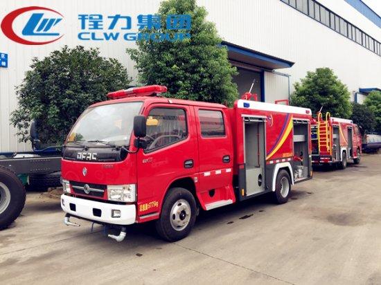 东风2.5吨水罐消防车,消防车