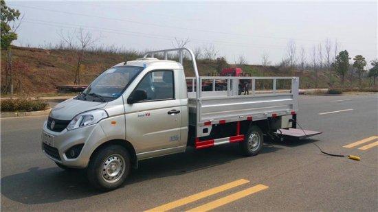 福田小型桶装垃圾运输车
