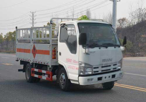 五十铃气瓶运输车(4.15米)(蓝牌)