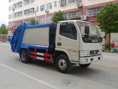 东风蓝牌压缩式垃圾车(4方)