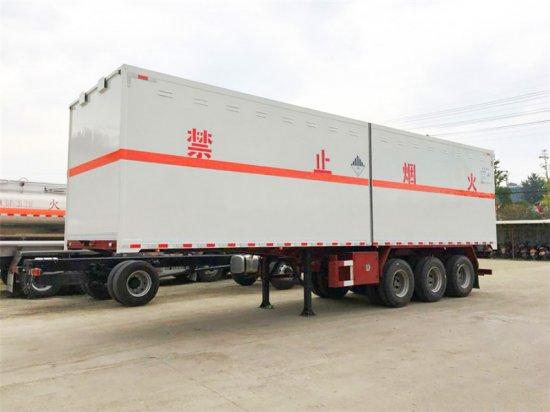 杂项危险物品厢式运输半挂车(10.7米),杂项危险物品运输车
