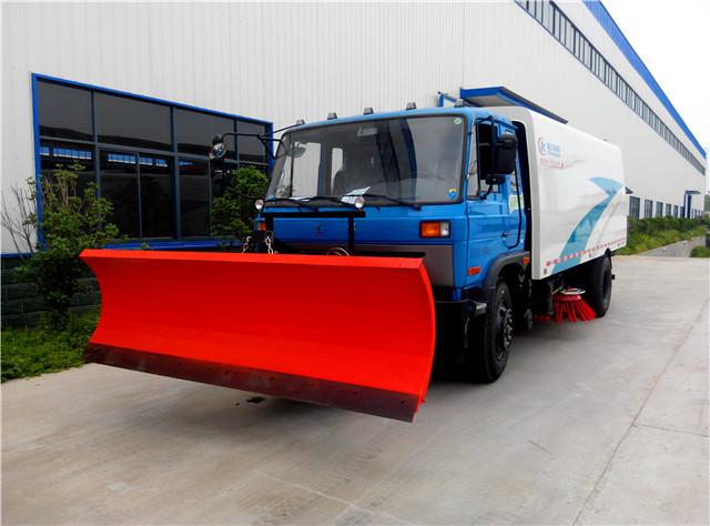 东风153道路清扫车可选装雪铲