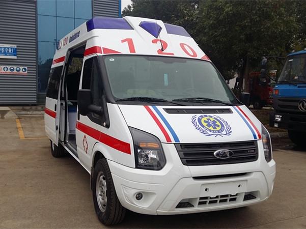 福特V348新世代救护车(中顶|高顶)|(运输型|监护型)