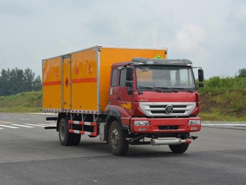 重汽斯太尔8.6吨爆破器材运输车(6.07米)