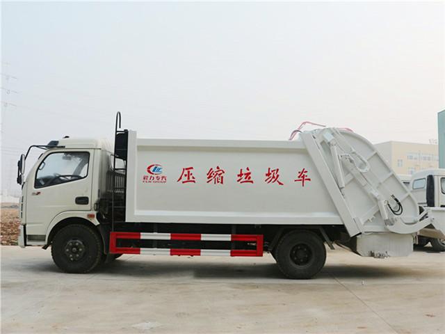 东风多利卡压缩式垃圾车多种涂装可供选择