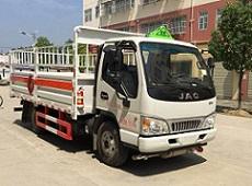 栏板式(仓栅式)气瓶运输车