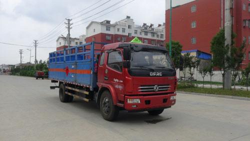 东风多利卡排半气瓶运输车(6.5米)