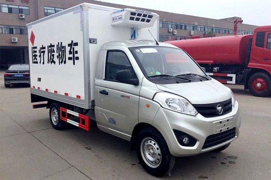 福田奥铃T3医疗废物运输车