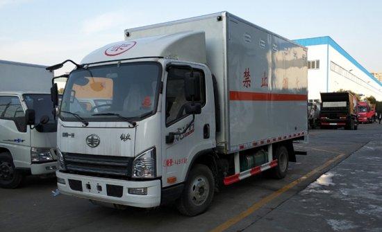 解放虎V爆破器材运输车(4.05米)