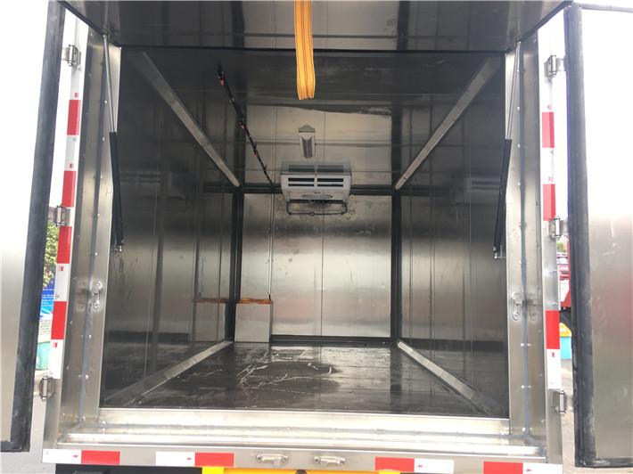 东风小多利卡医疗废物转运车图
