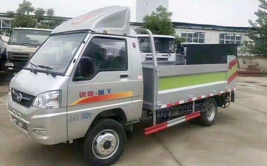 凯马桶装垃圾运输车(8-10桶)
