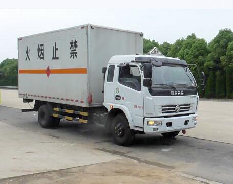 东风多利卡6.2米厢式气瓶运输车