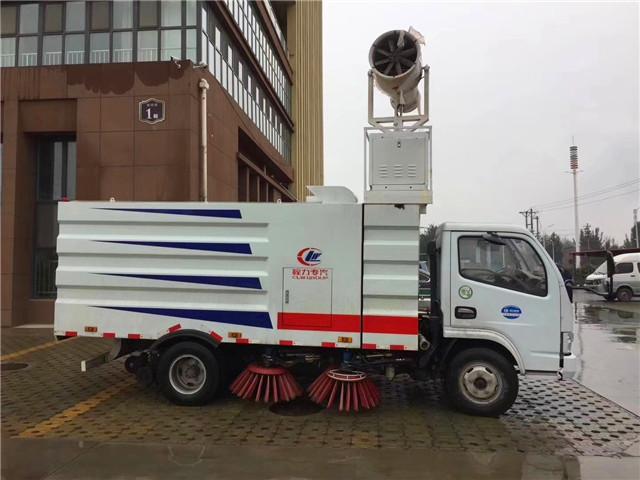 东风小多利卡扫路车可加装喷雾降尘机组