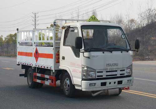 五十铃100气瓶运输车(4.2米),气瓶运输车